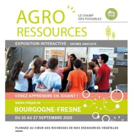 Exposition interactive : agroressources le champ des possibles