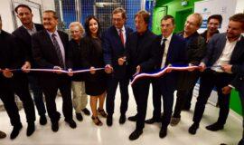 Inauguration de la plateforme expérimentale d'irradiation, Féerix