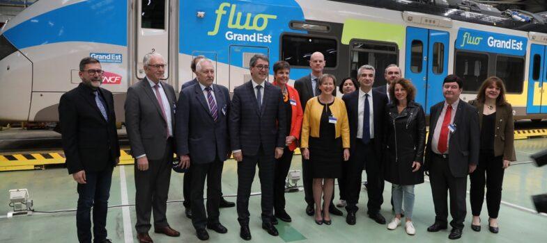 Coopération transfrontalière :  la plus importante commande européenne de trains à Alstom