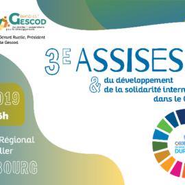 3èmes Assises du développement et de la solidarité internationale dans le Grand Est