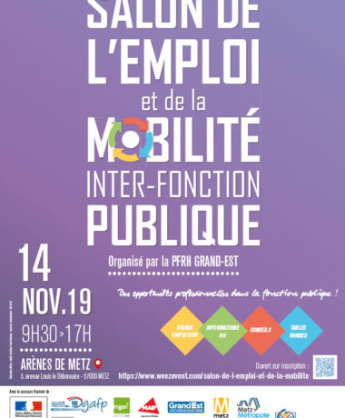 Salon de l'emploi et de la mobilité inter-fonction publique