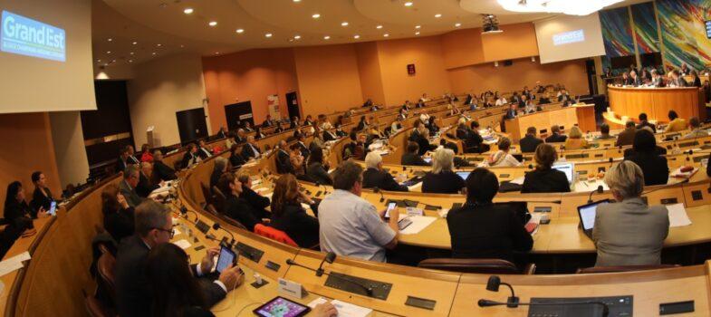 Suivez la Séance plénière du Conseil régional en direct le 22 novembre 2019