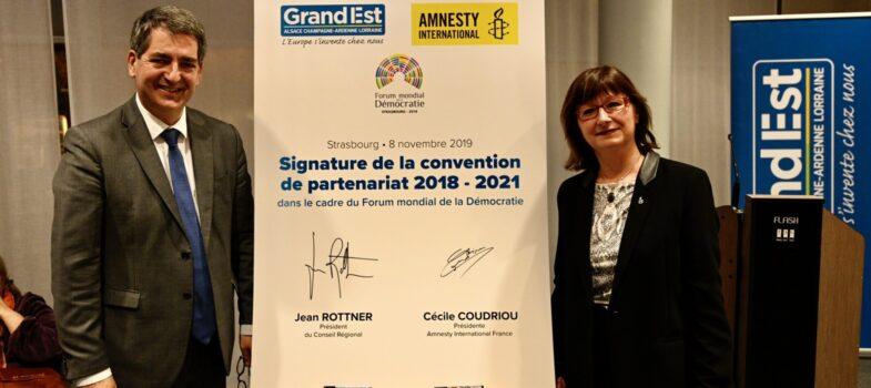 La Région renouvelle son engagement en faveur des Droits de l'Homme et la liberté d'expression