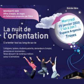 La Nuit de l'orientation à Troyes