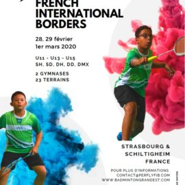Tournoi Perfly French International Borders
