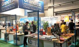 Délégation d'éditeurs du Grand Est à la Foire du Livre de Bruxelles