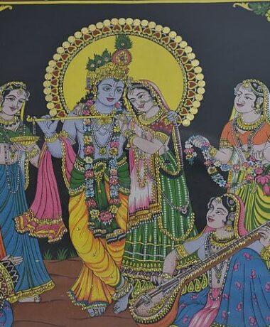 Début Govinden – mois dédié à Krishna