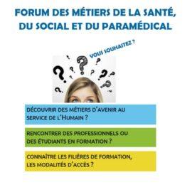 Forum des métiers de la santé, du social et du paramédical à Reims