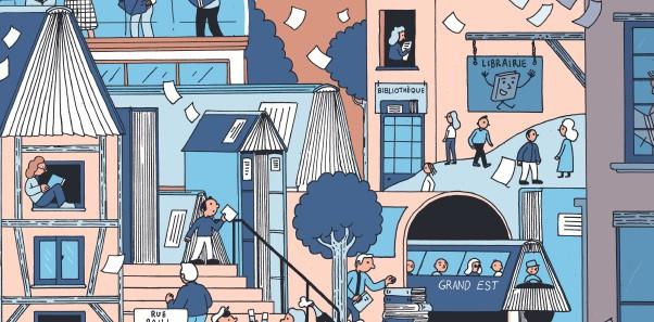 Illustration de Simon Bailly, diplômé de l'Ecole Supérieure d'Art d'Epinal
