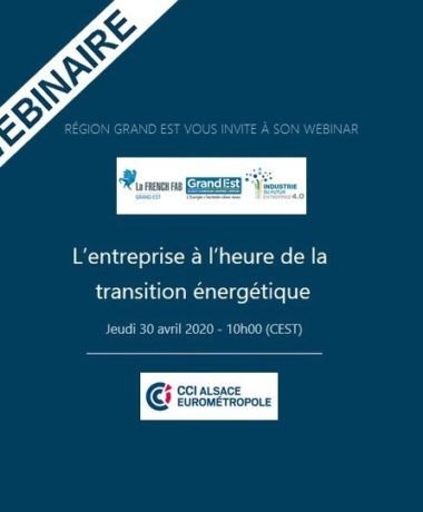 L'entreprise à l'heure de la transition énergétique