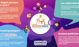 Ma Région Demain, les ateliers participatifs !