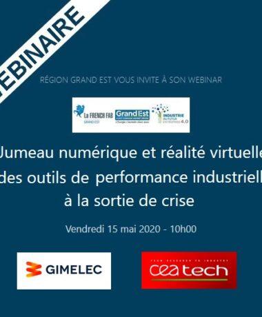 Jumeau numérique et réalité virtuelle des outils de performance industrielle à la sortie de crise