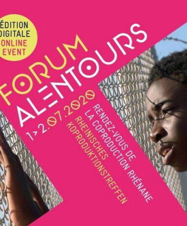 Cinéma – Audiovisuel : Forum Alentours 2020