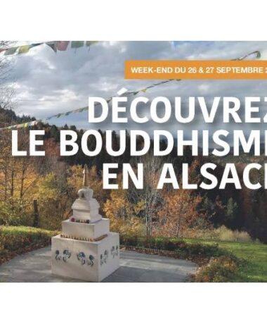Découvrez le Bouddhisme en Alsace les 26 et 27 septembre 2020