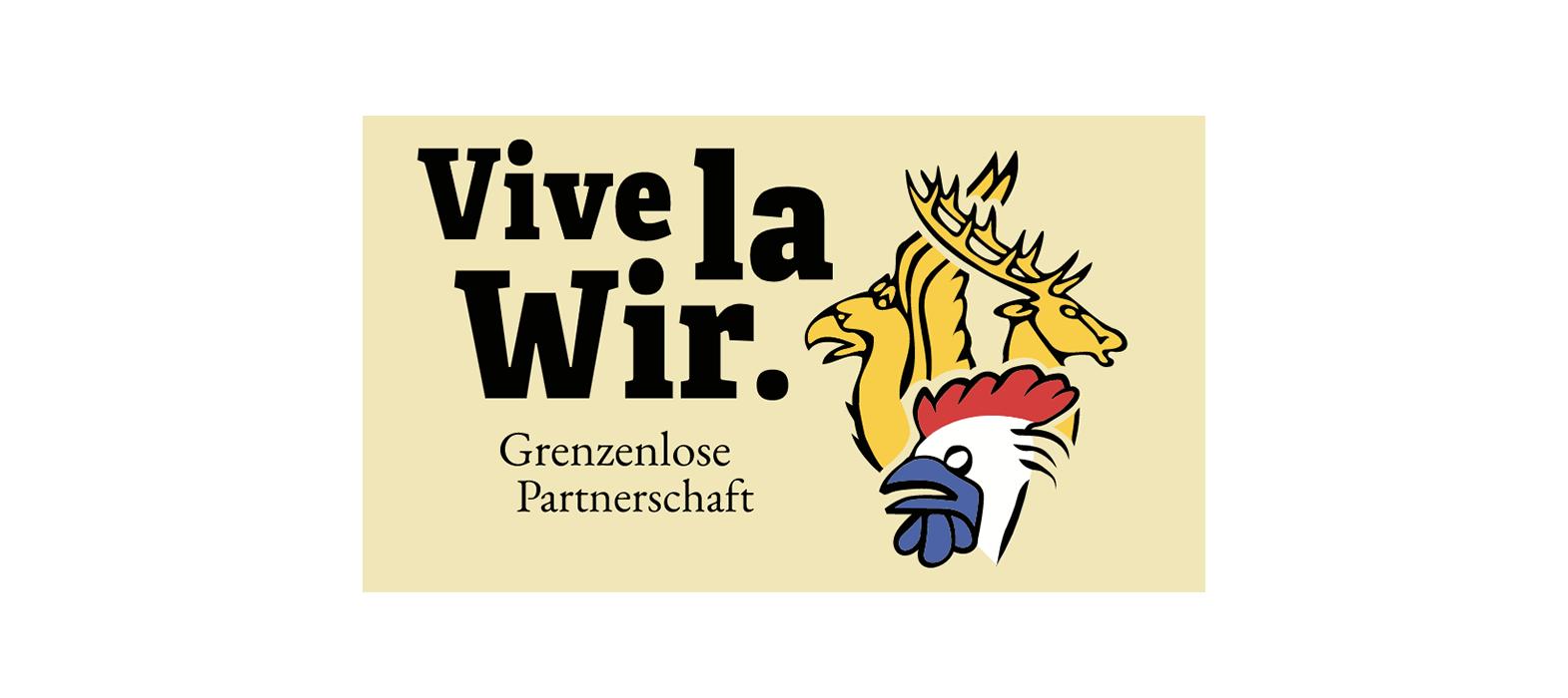 Logo du portail de coopération transfrontalière VivelaWir