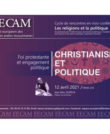 Conférence de l'EECAM : Foi protestante et engagement politique