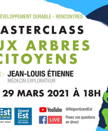 Masterclass « Aux arbres citoyens ! » avec Jean-Louis Etienne