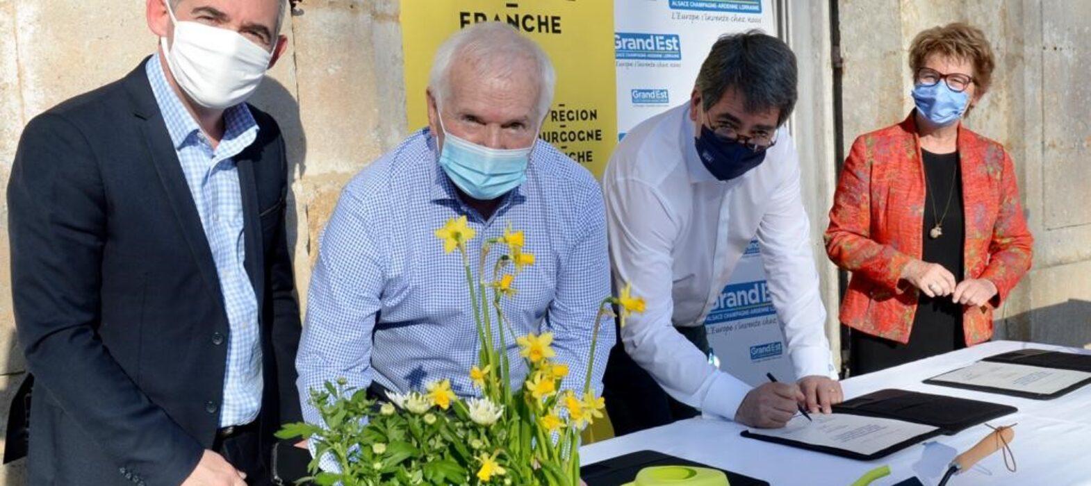 signature de la Convention de partenariat 2020-2027 Biodiversité