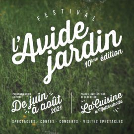 Festival l'avide jardin
