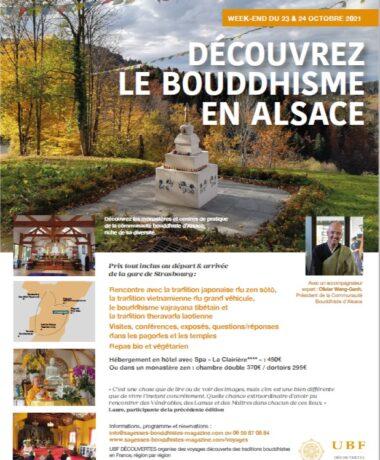 Découvrir le bouddhisme en Alsace