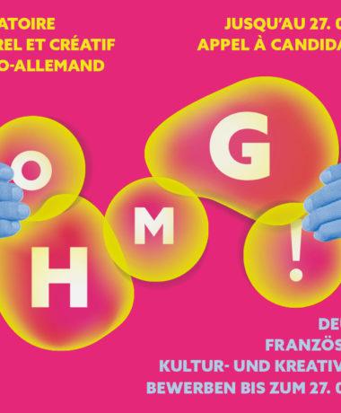Appel à candidature du laboratoire créatif et culturel franco-allemand OH MY GOETHE !