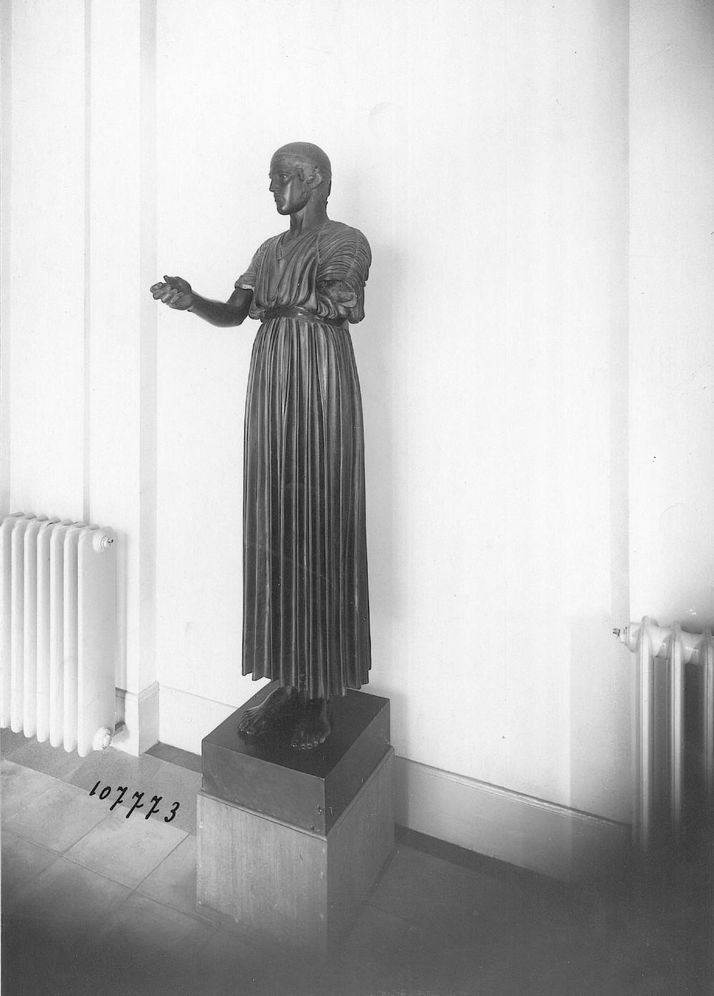 Inconnu - Sans titre –Vers 1940 Statue de l'internat